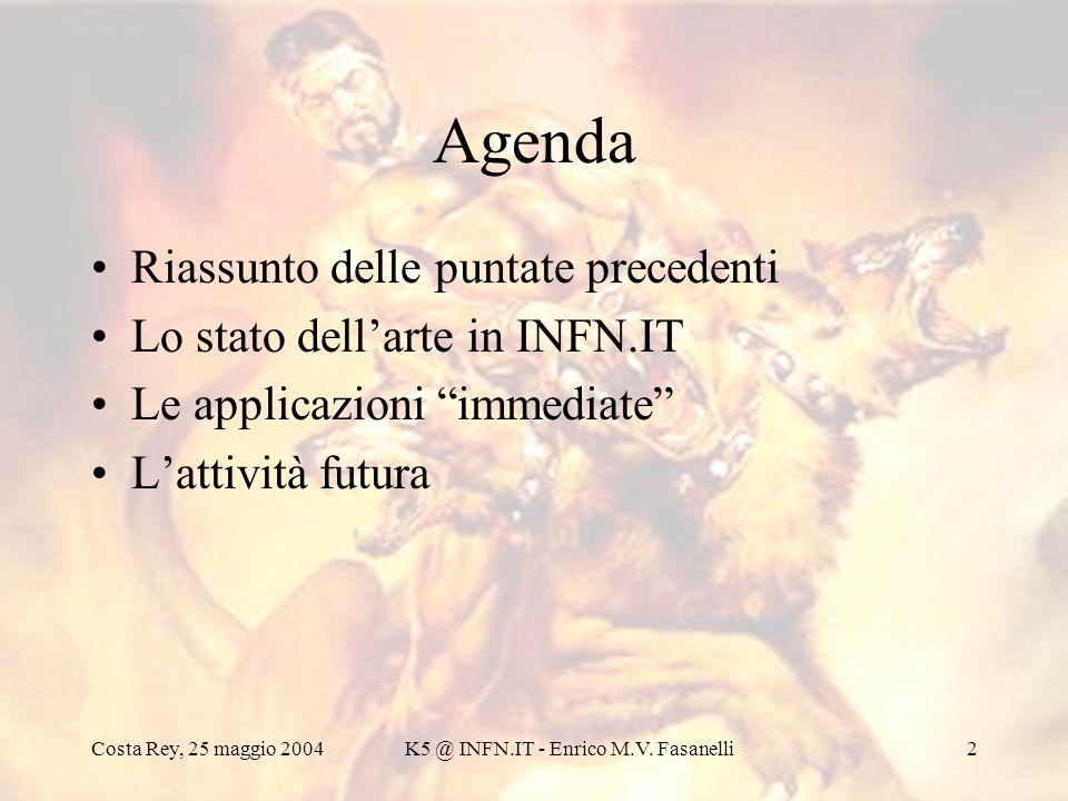 K5 @ INFN.IT - Enrico M.V. Fasanelli