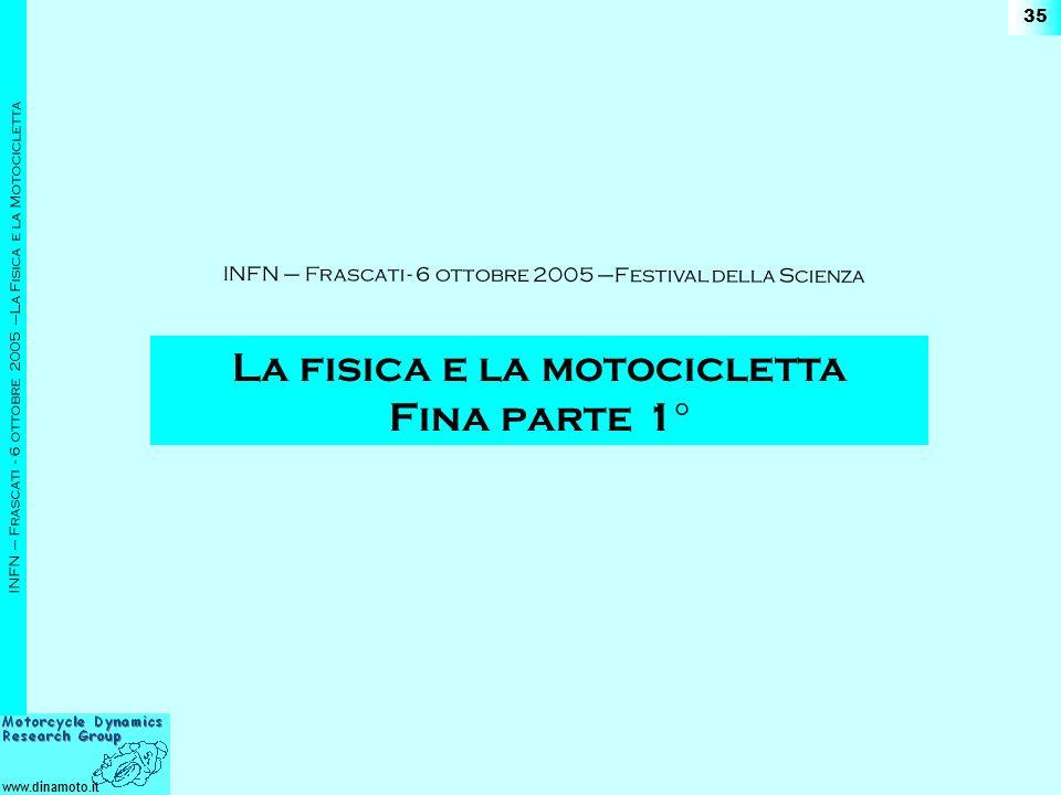 La fisica e la motocicletta Fina parte 1°