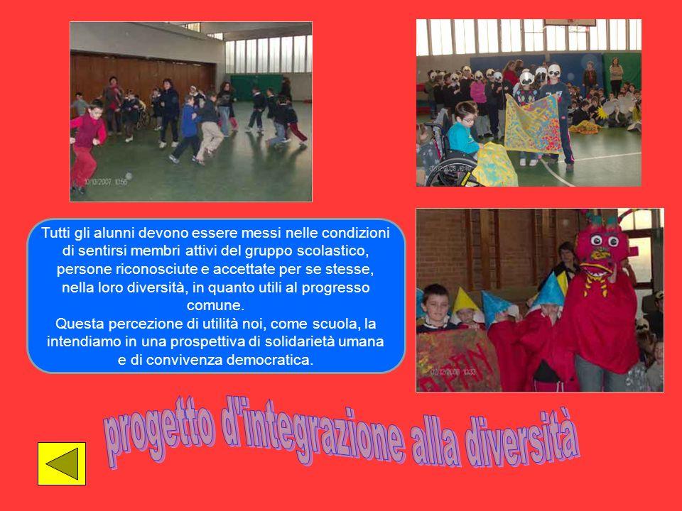 progetto d integrazione alla diversità