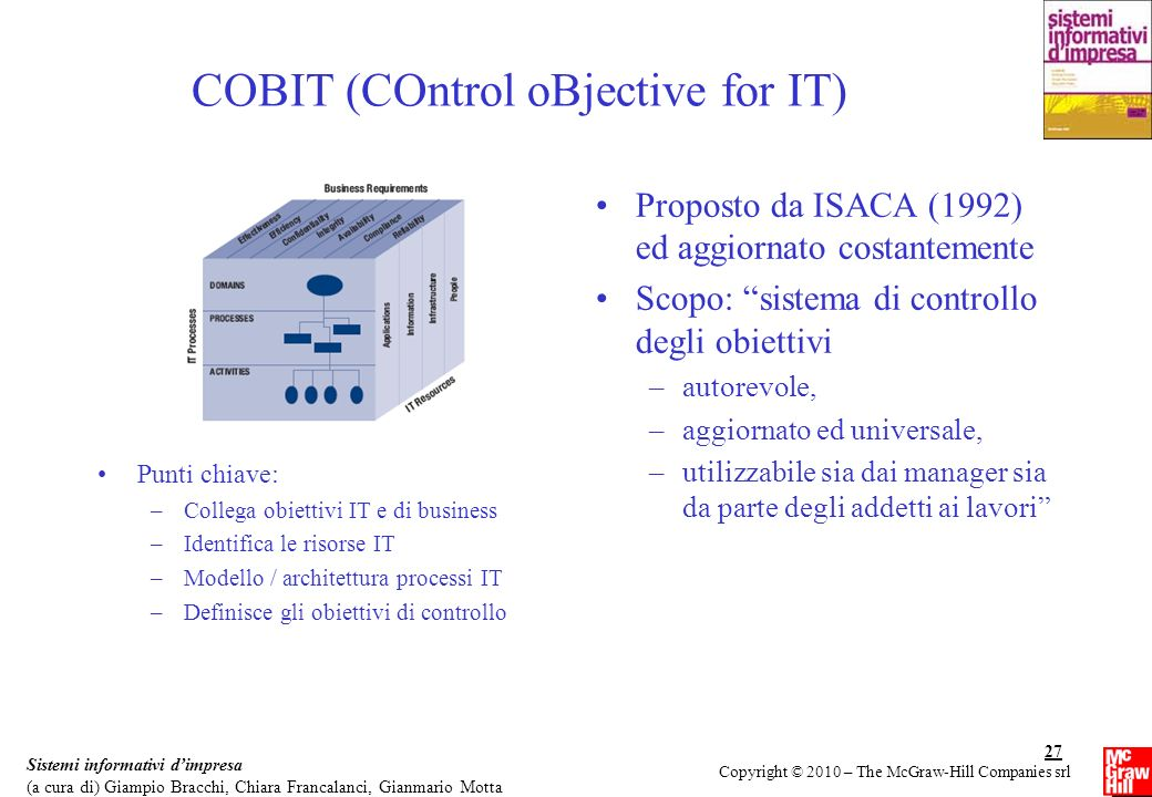 COBIT (COntrol oBjective for IT)