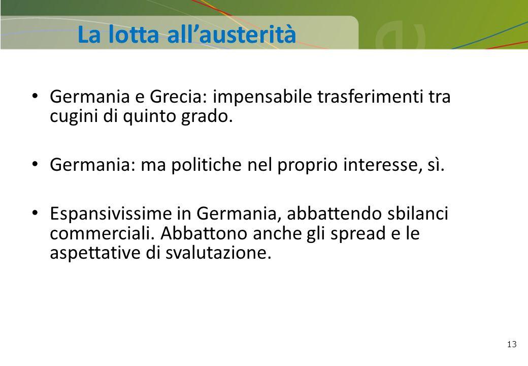La lotta all'austerità