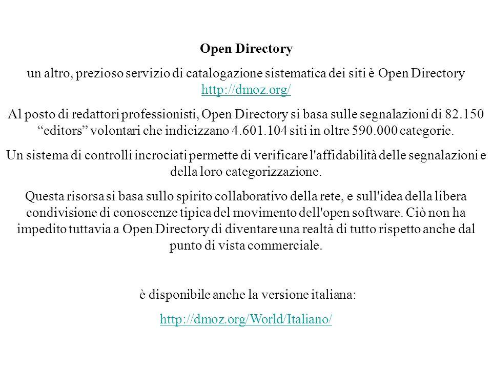 è disponibile anche la versione italiana: