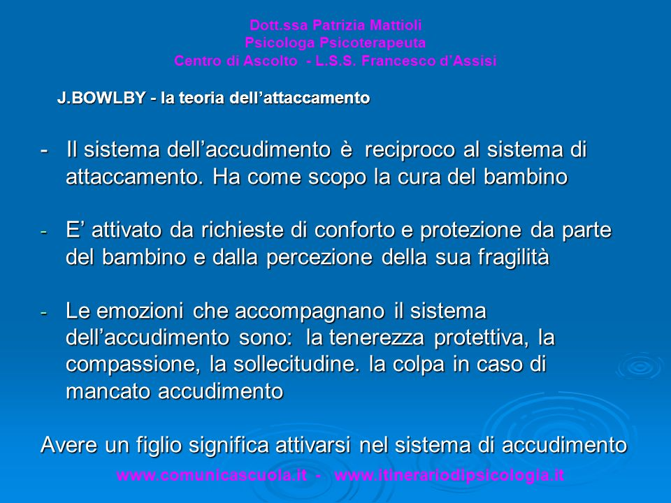 www.comunicascuola.it - www.itinerariodipsicologia.it