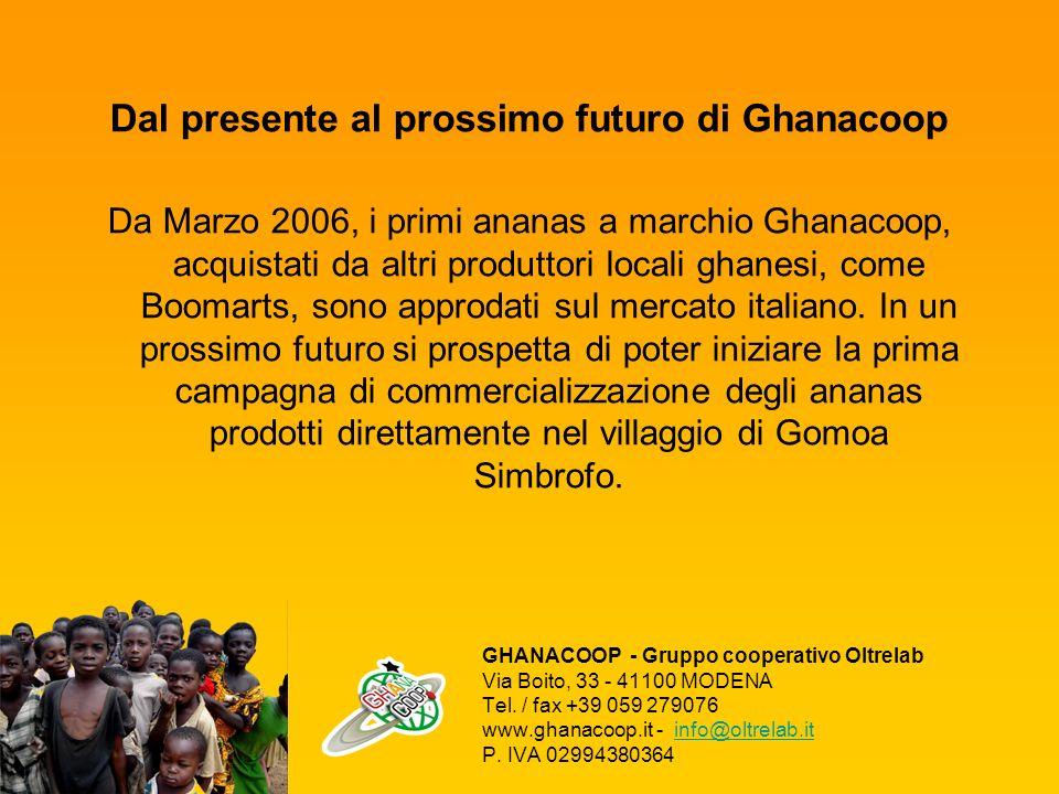 Dal presente al prossimo futuro di Ghanacoop