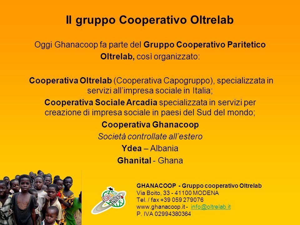 Il gruppo Cooperativo Oltrelab Cooperativa Ghanacoop