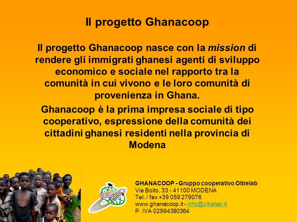 Il progetto Ghanacoop