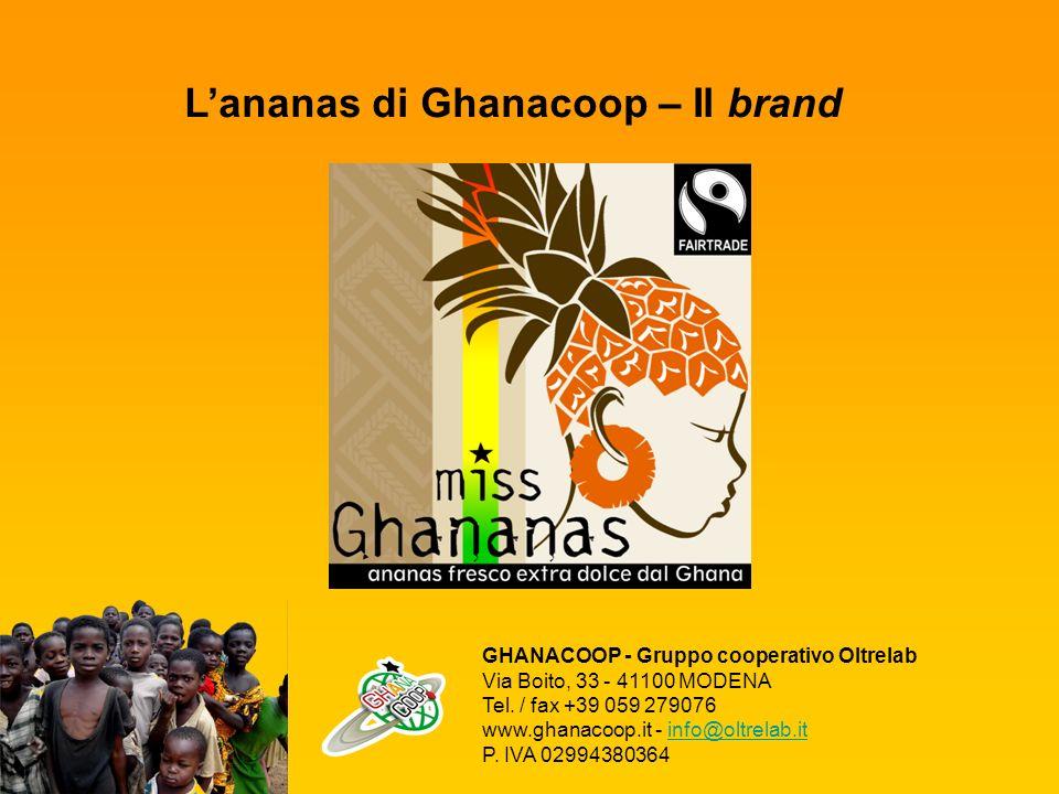 L'ananas di Ghanacoop – Il brand