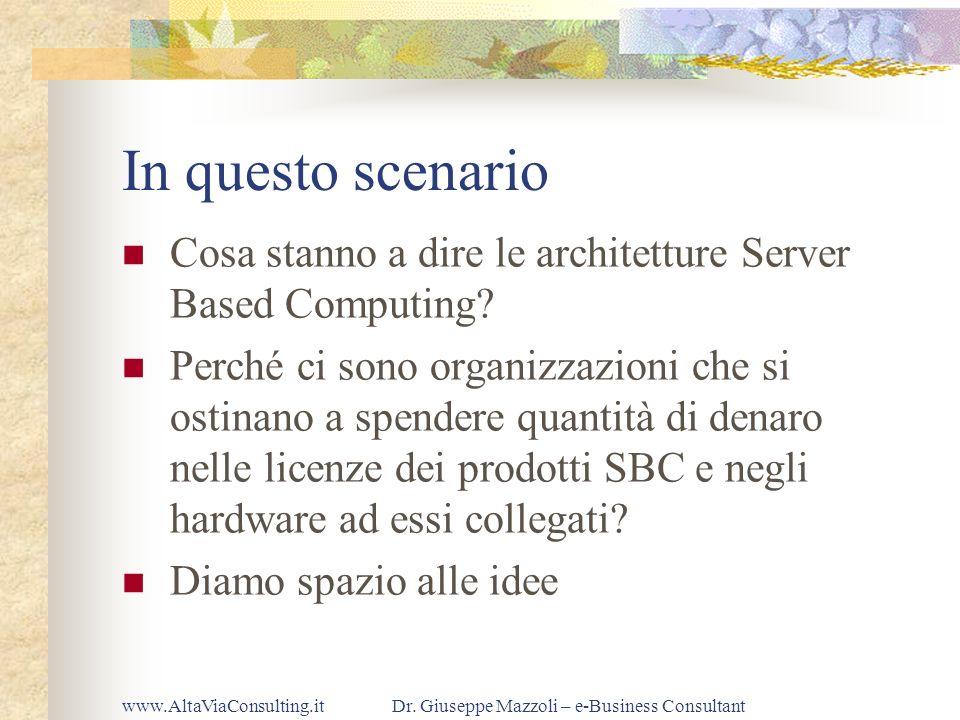 Dr. Giuseppe Mazzoli – e-Business Consultant