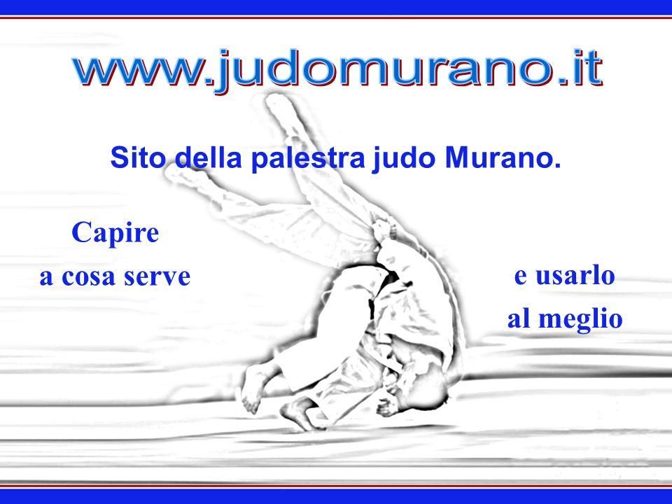 Sito della palestra judo Murano.