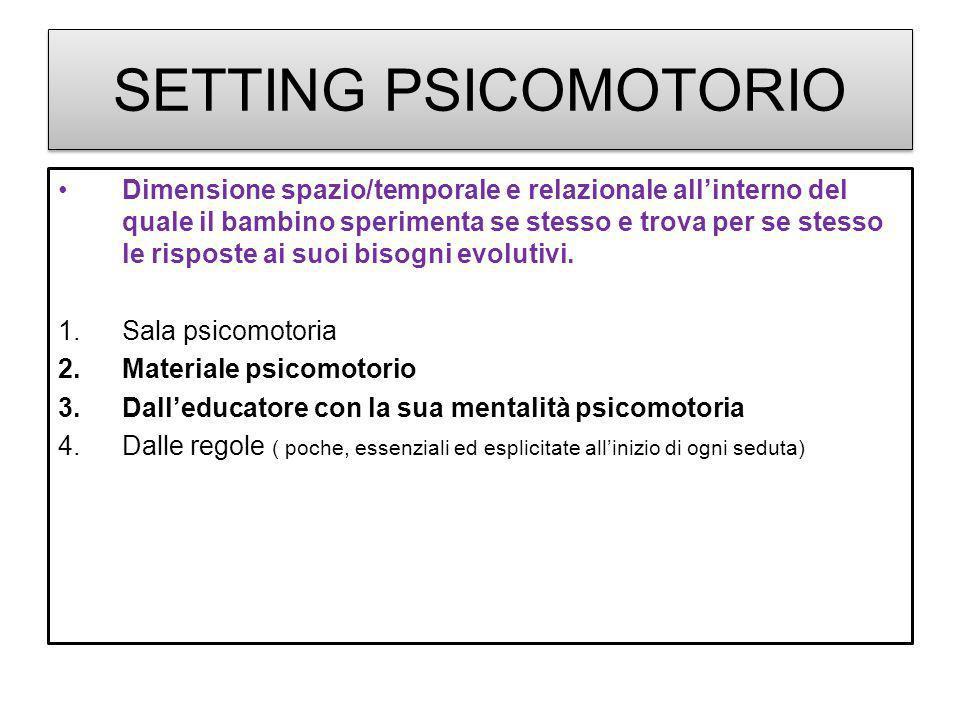 SETTING PSICOMOTORIO