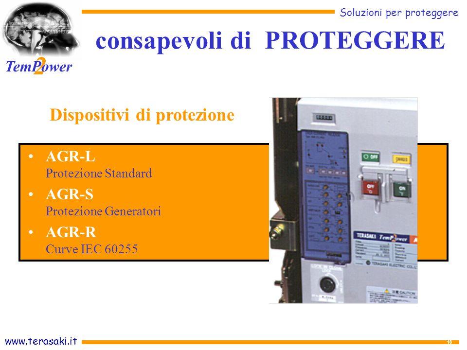 consapevoli di PROTEGGERE Dispositivi di protezione