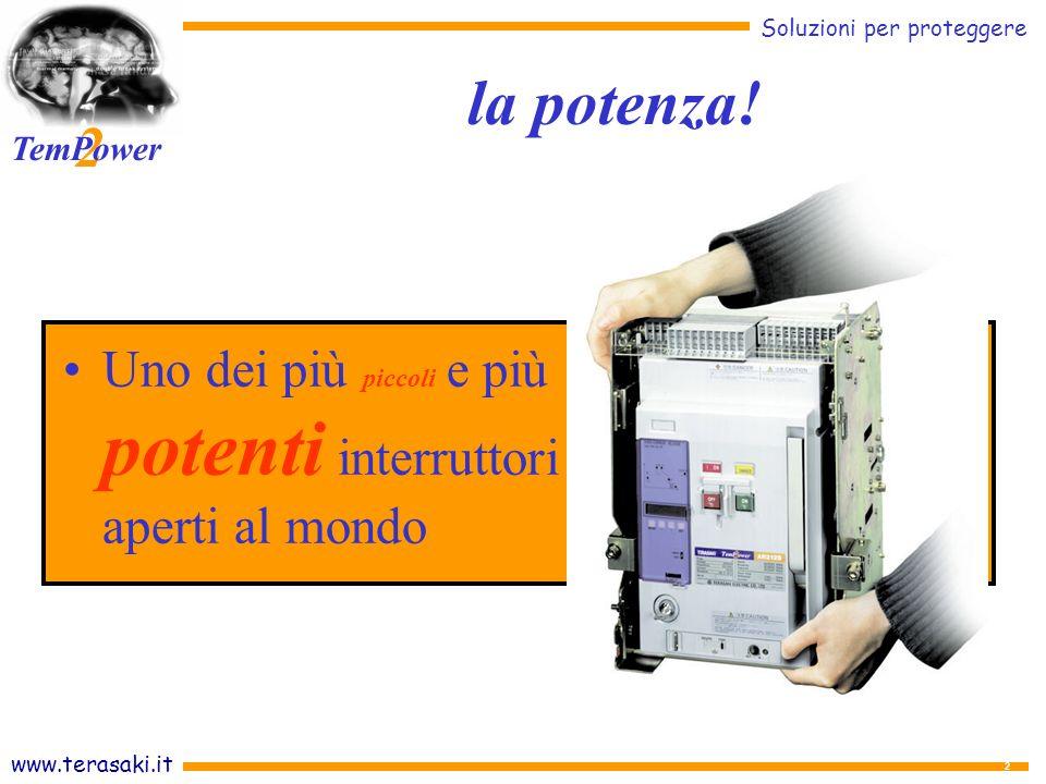 la potenza! Uno dei più piccoli e più potenti interruttori aperti al mondo