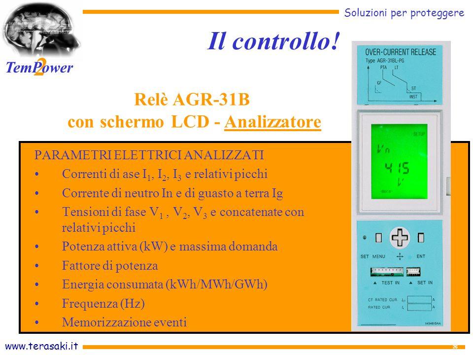 con schermo LCD - Analizzatore