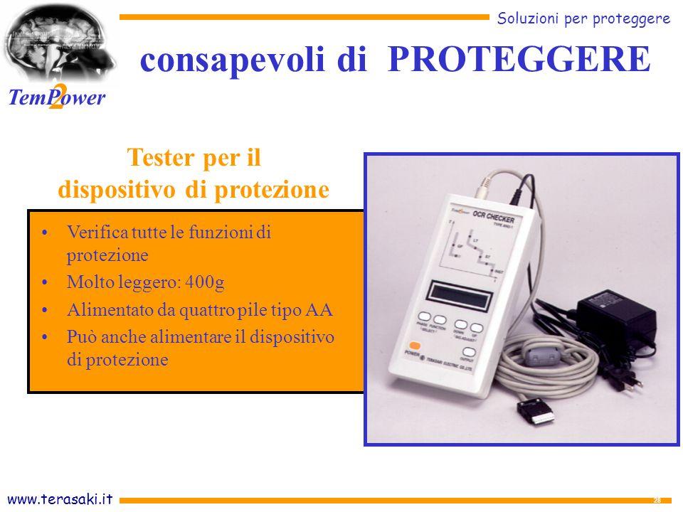 consapevoli di PROTEGGERE dispositivo di protezione