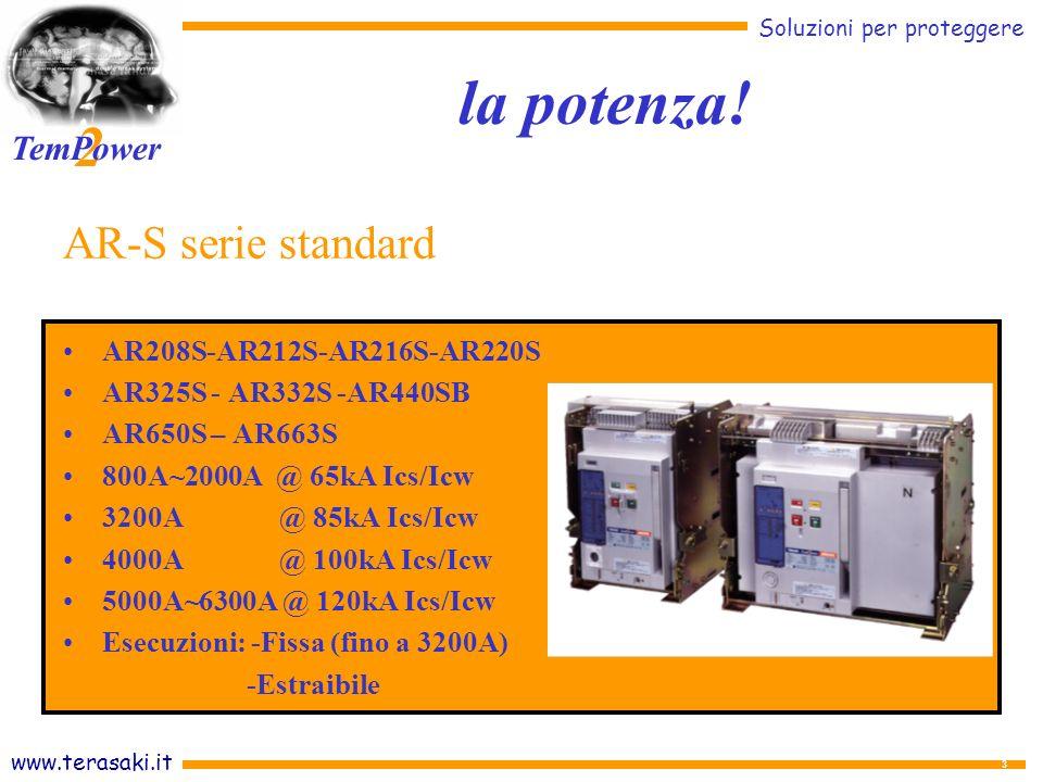 la potenza! AR-S serie standard AR208S-AR212S-AR216S-AR220S