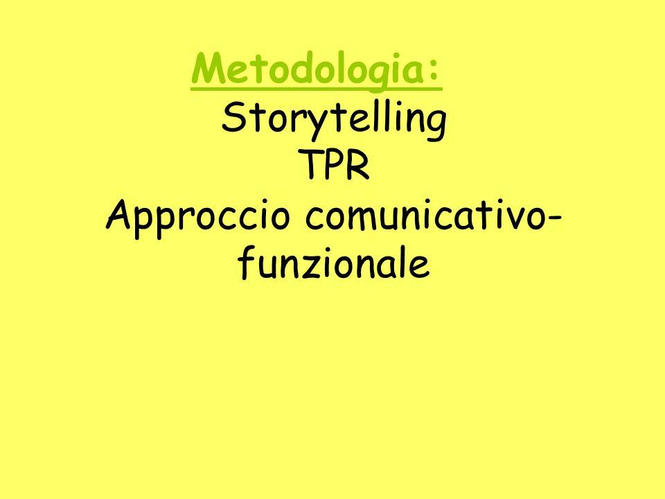 Approccio comunicativo-funzionale