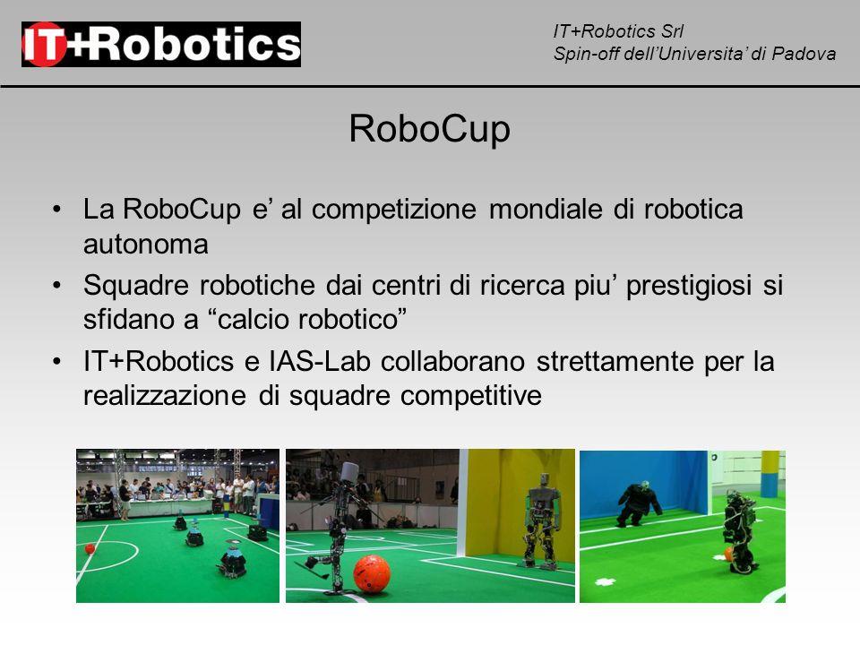 RoboCup La RoboCup e' al competizione mondiale di robotica autonoma