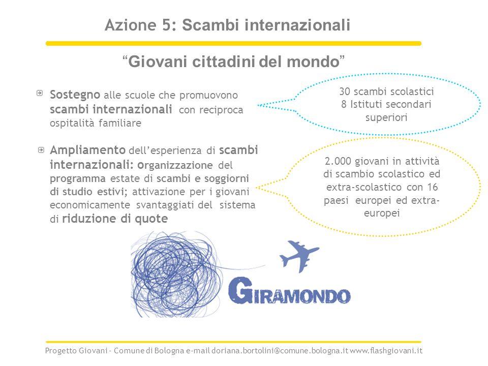 Azione 5: Scambi internazionali