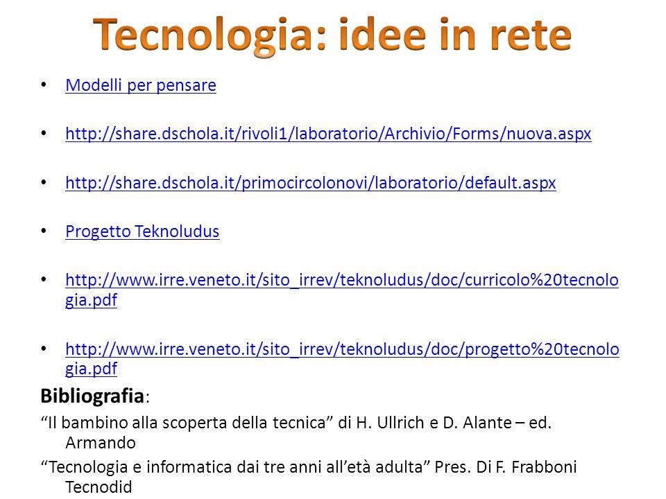 Tecnologia: idee in rete