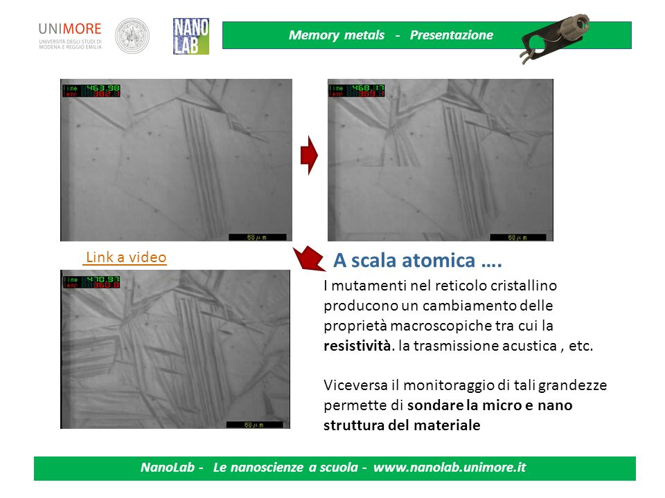 A scala atomica …. Link a video