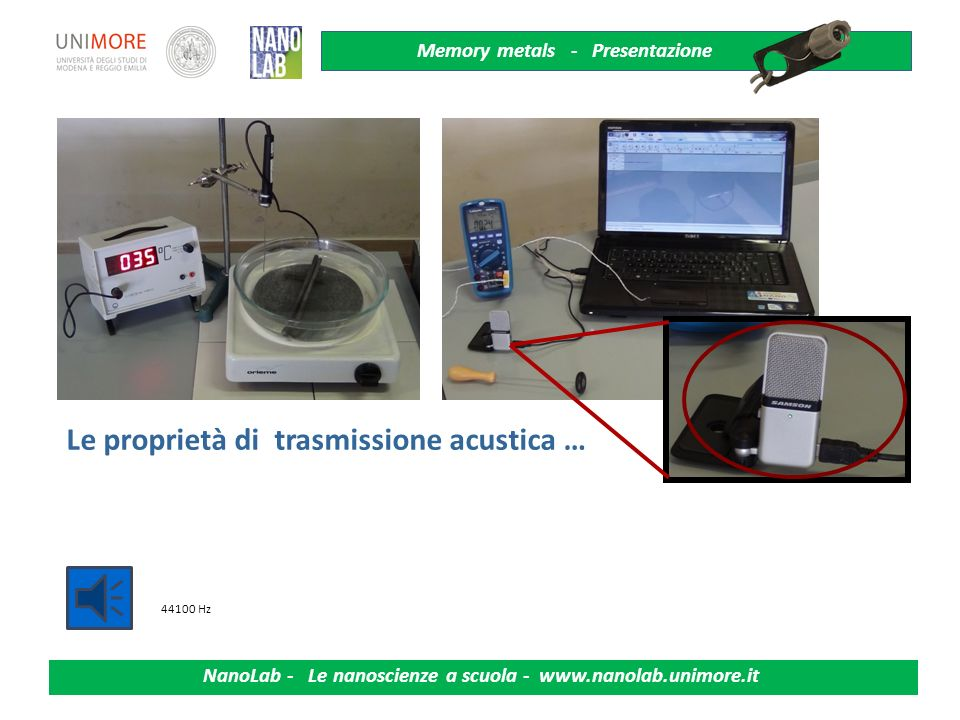 Le proprietà di trasmissione acustica …