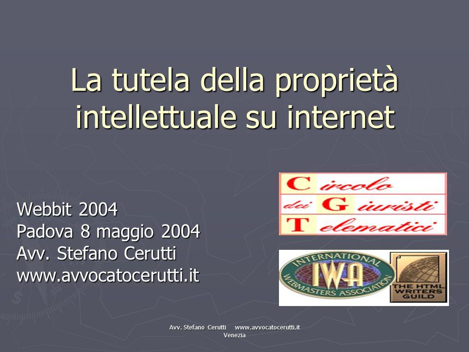 La tutela della proprietà intellettuale su internet