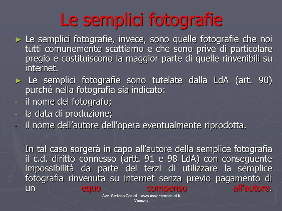 Le semplici fotografie