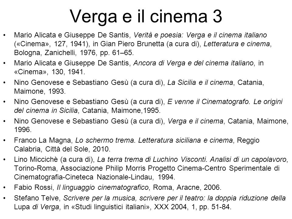 Verga e il cinema 3