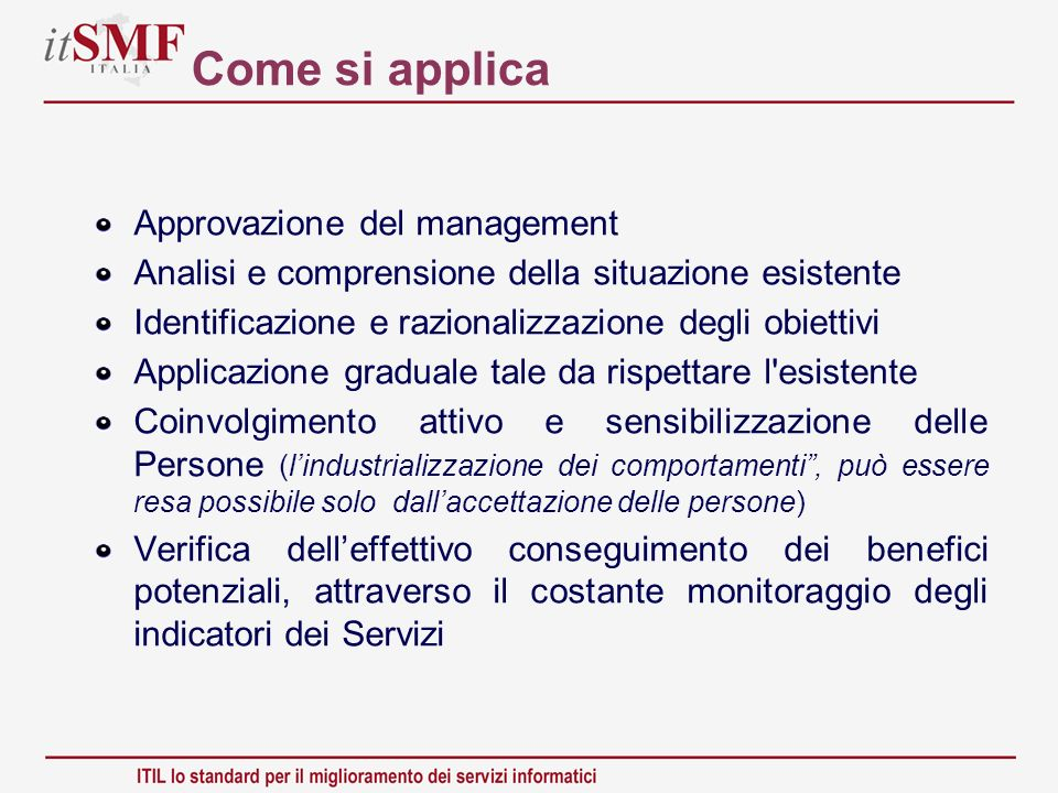 Come si applica Approvazione del management