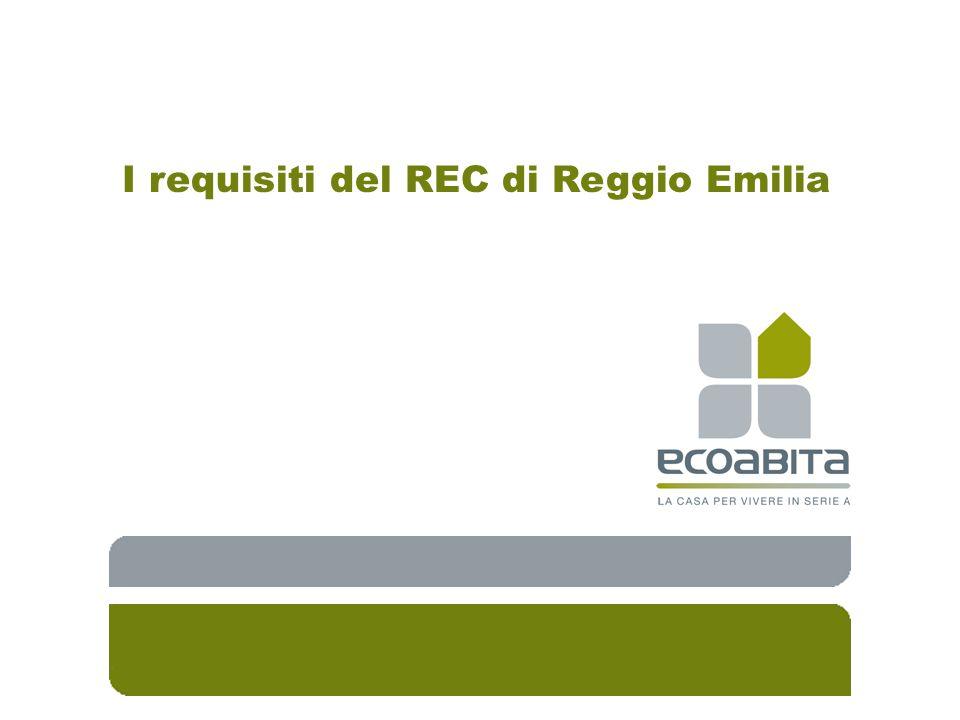 I requisiti del REC di Reggio Emilia