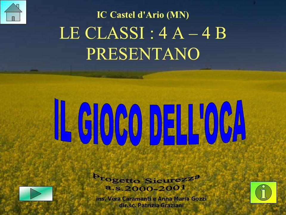 IC Castel d Ario (MN) LE CLASSI : 4 A – 4 B PRESENTANO