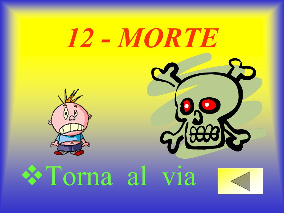 12 - MORTE Torna al via