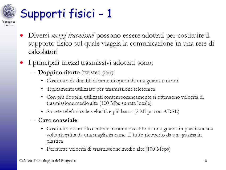 Supporti fisici - 1