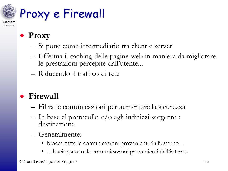 Proxy e Firewall Proxy Firewall
