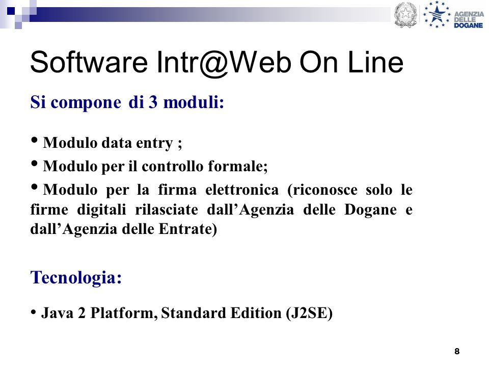 Software Intr@Web On Line
