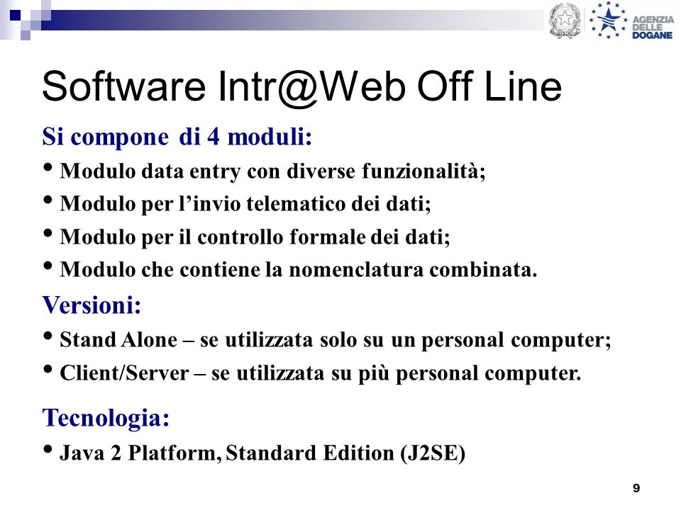 Software Intr@Web Off Line