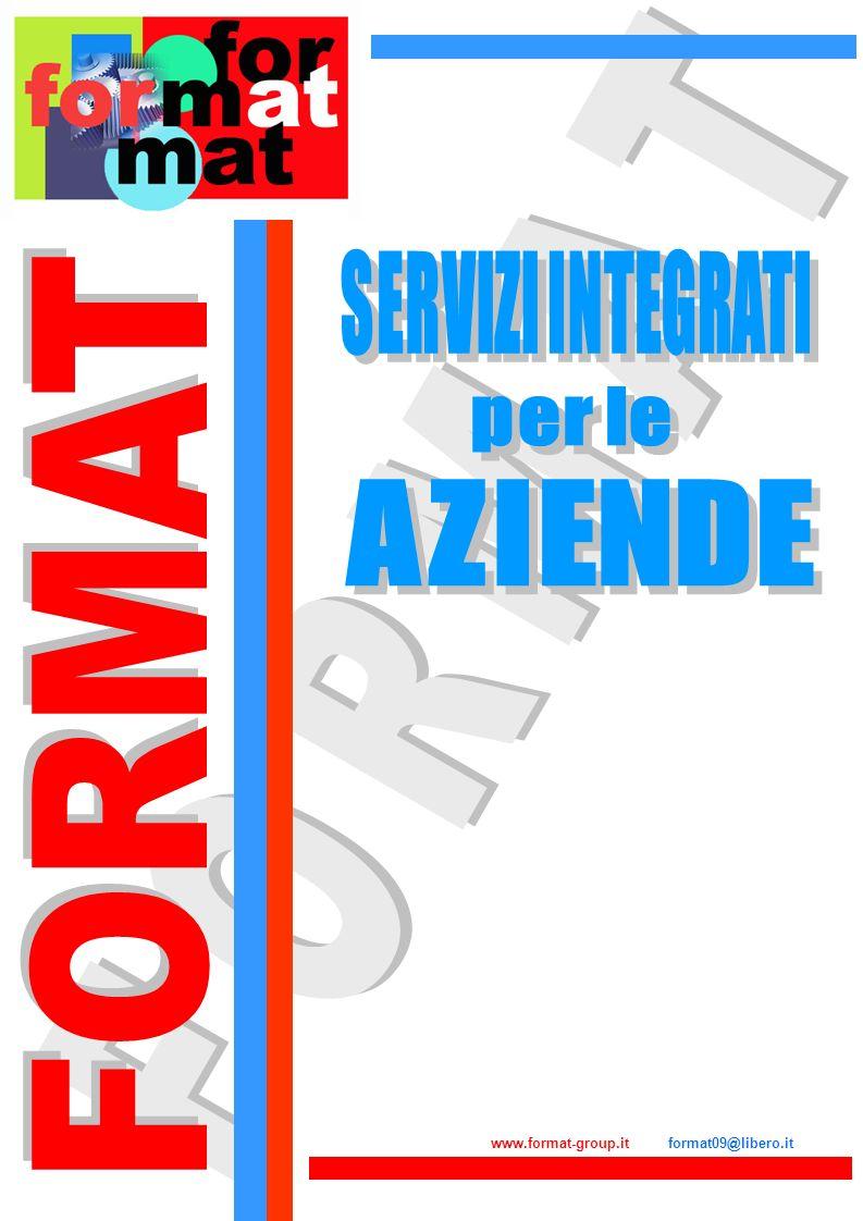 FORMAT FORMAT SERVIZI INTEGRATI per le AZIENDE
