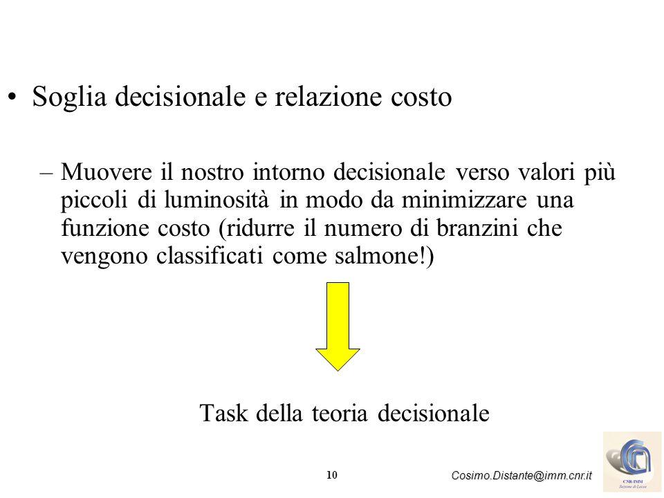 Task della teoria decisionale