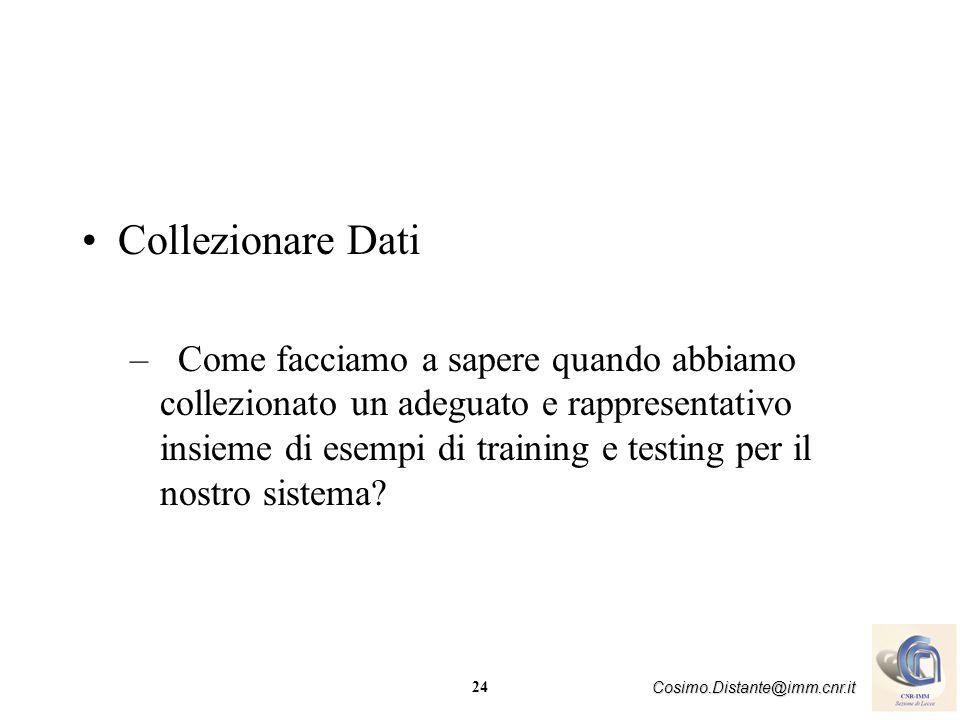 Collezionare Dati