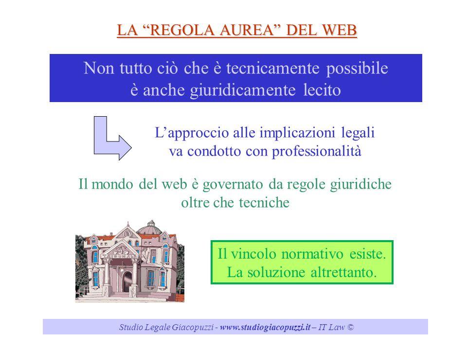LA REGOLA AUREA DEL WEB