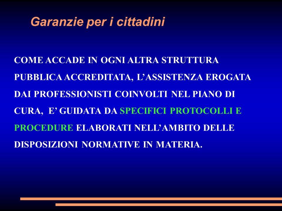 Garanzie per i cittadini