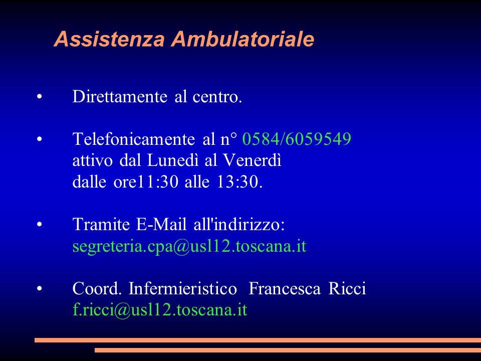 Assistenza Ambulatoriale