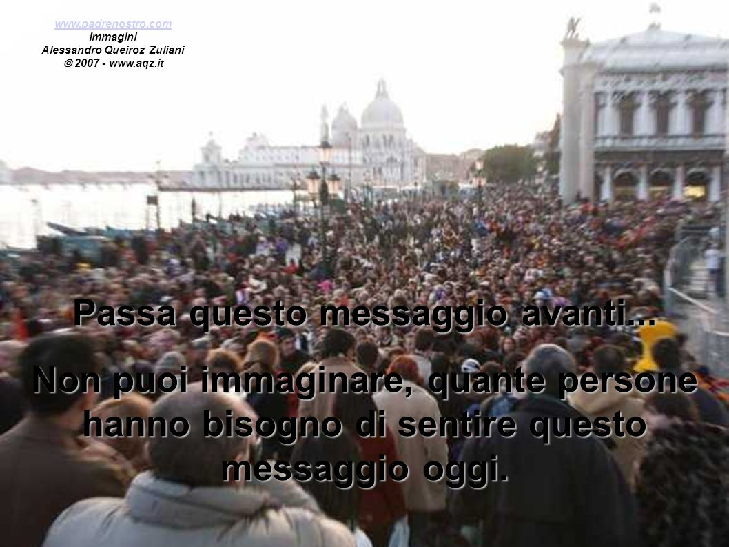 Alessandro Queiroz Zuliani Passa questo messaggio avanti...