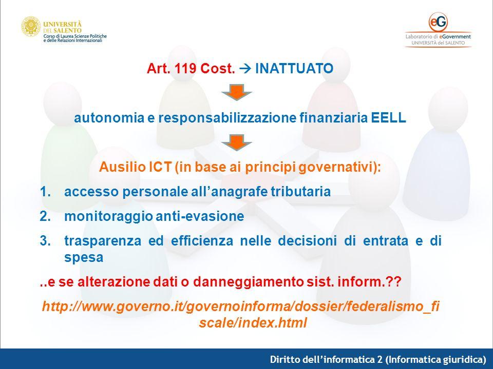 autonomia e responsabilizzazione finanziaria EELL