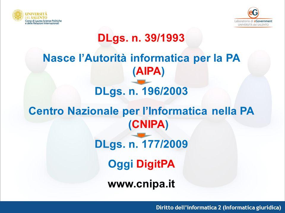 Nasce l'Autorità informatica per la PA (AIPA)