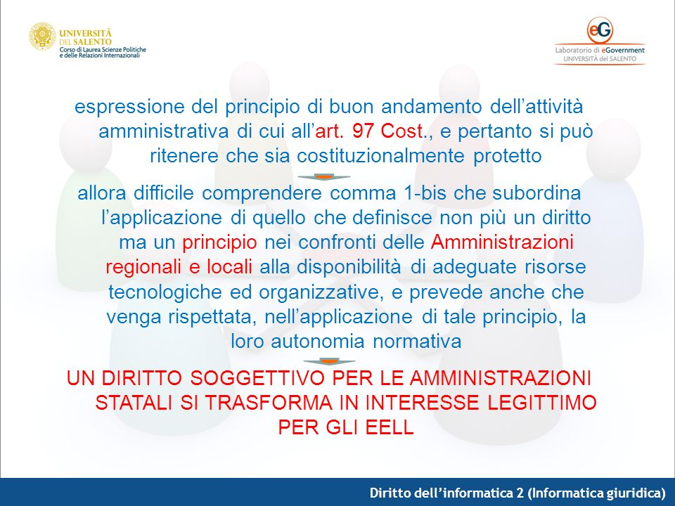 espressione del principio di buon andamento dell'attività amministrativa di cui all'art. 97 Cost., e pertanto si può ritenere che sia costituzionalmente protetto
