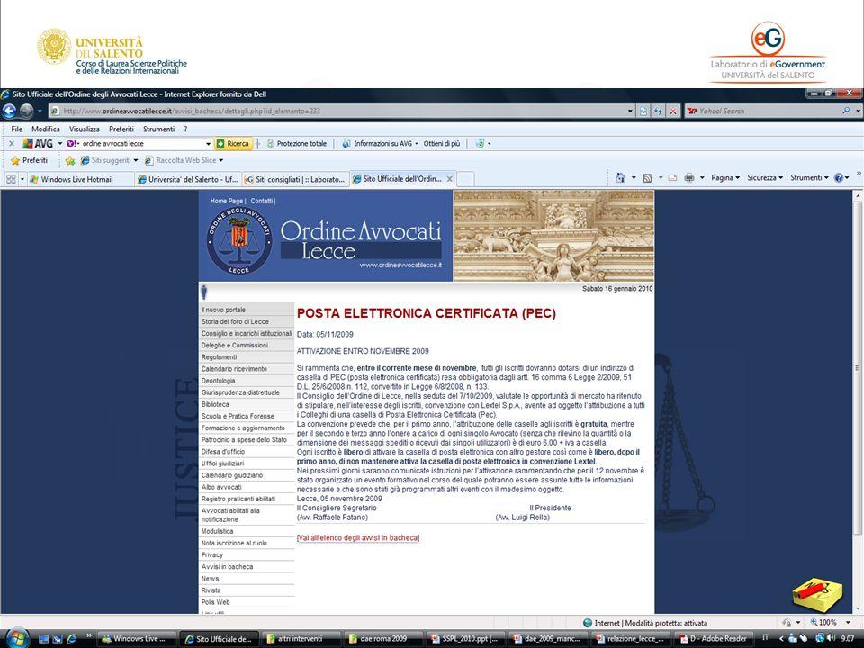 Diritto dell'informatica 2 (Informatica giuridica)