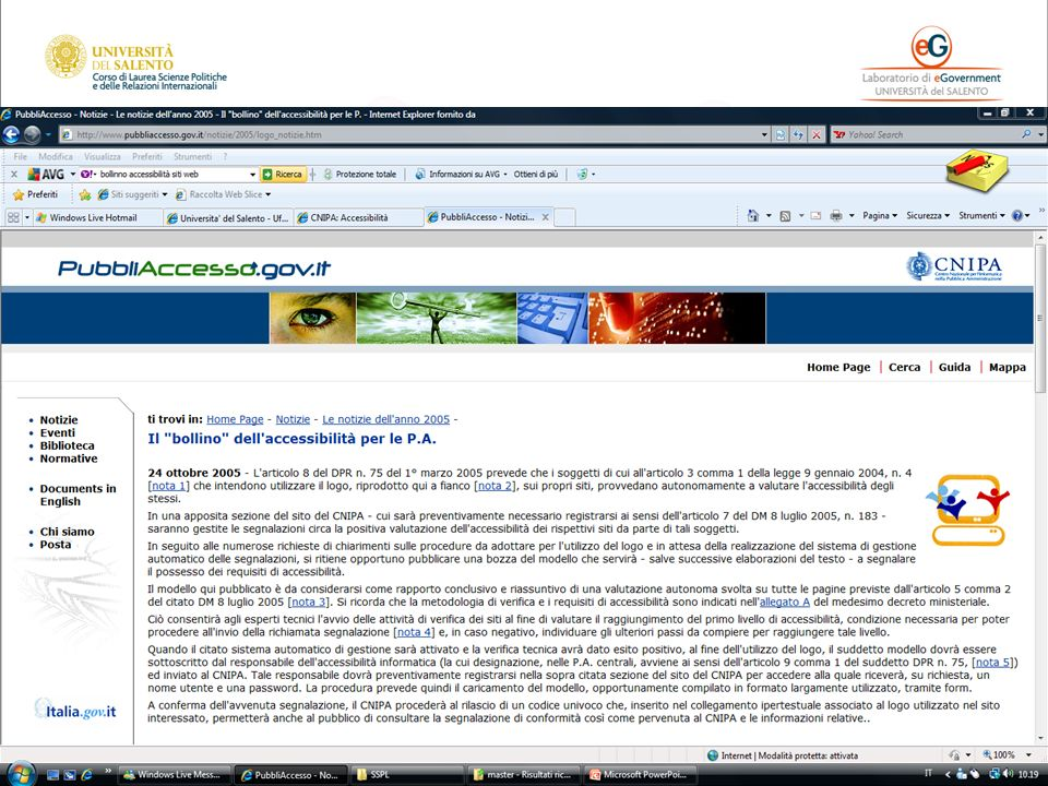 www.pubbliaccesso.it - www.w3c.it