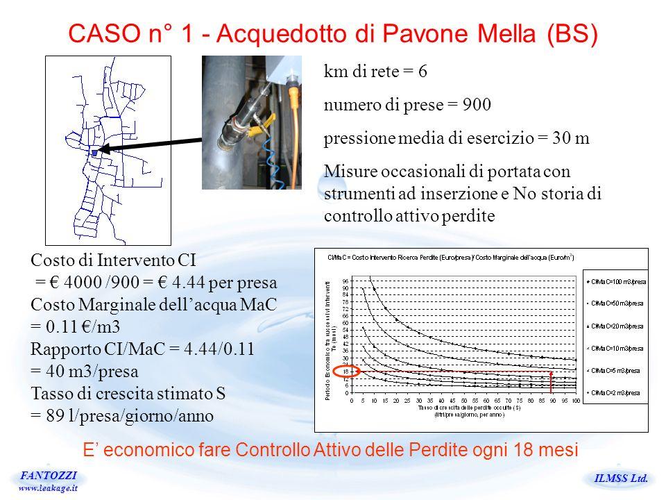 CASO n° 1 - Acquedotto di Pavone Mella (BS)