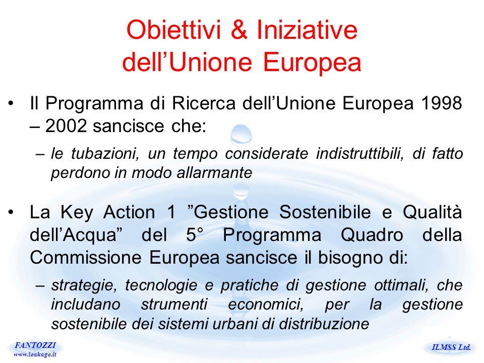 Obiettivi & Iniziative dell'Unione Europea